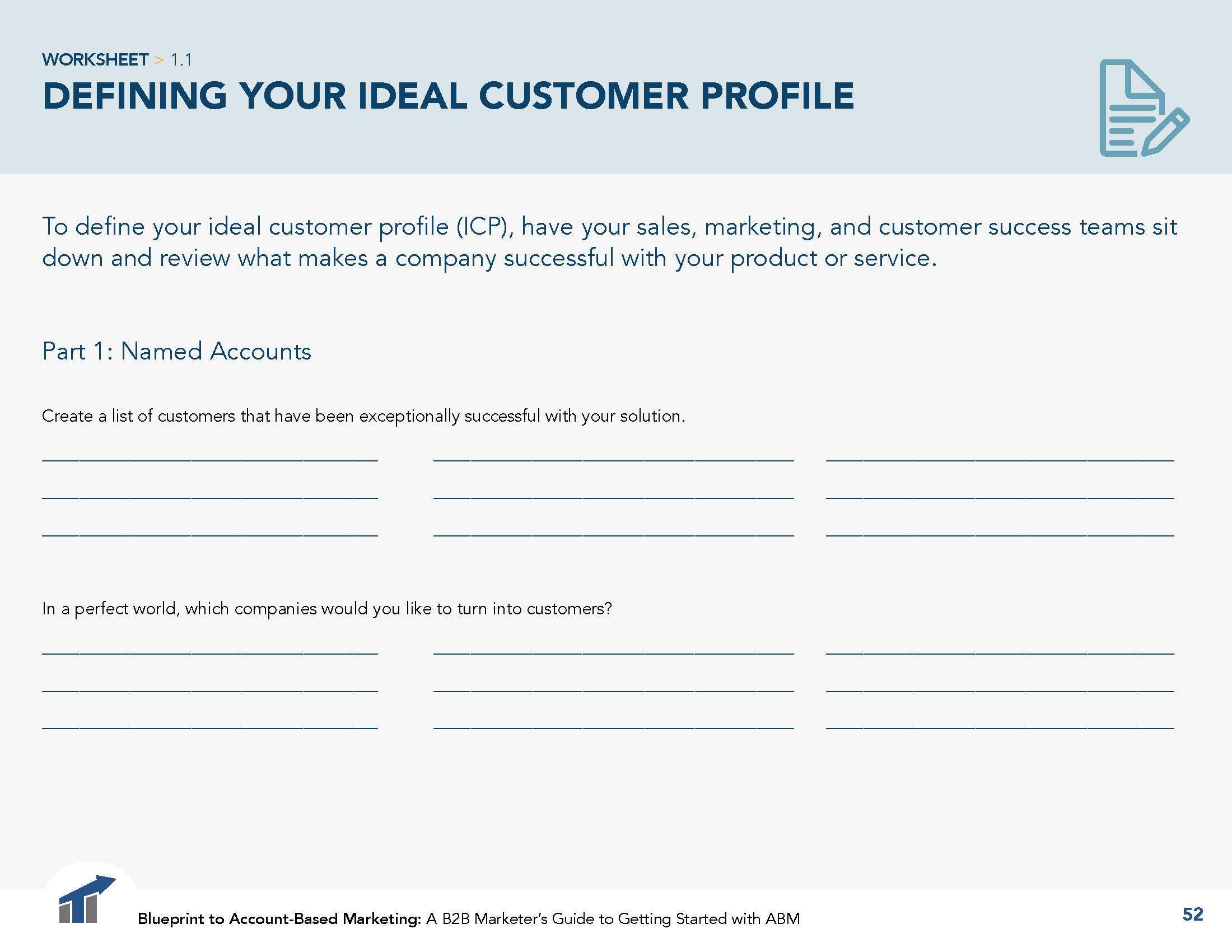 How To Define Your Ideal Customer Profile For Account