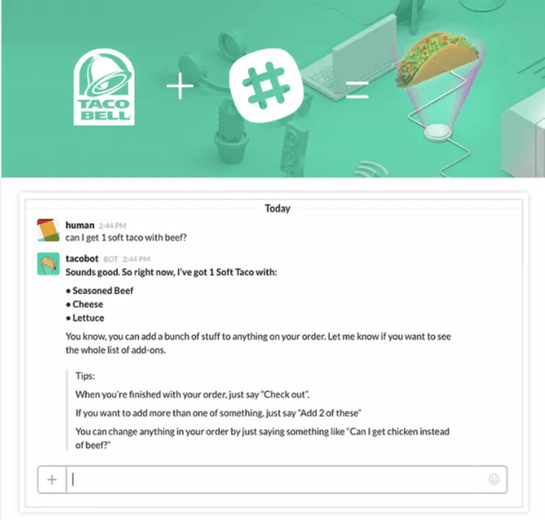 Taco Bell Chatbot