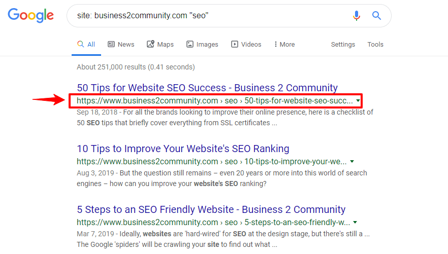 google seo guidelines articles on business2community