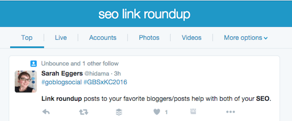 Twitter Link Building