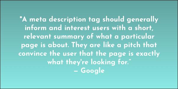 Utilisez une méta description intelligente pour améliorer votre référencement | Suvonni