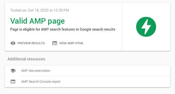 Test AMP Google - Améliorez votre référencement | Marketing numérique Suvonni