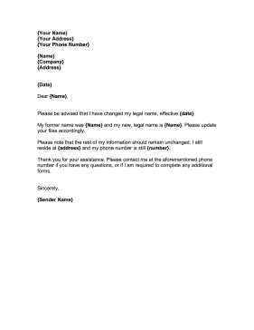 Sample Letter To Bank Requesting Change Of Address - Cover Letter ...