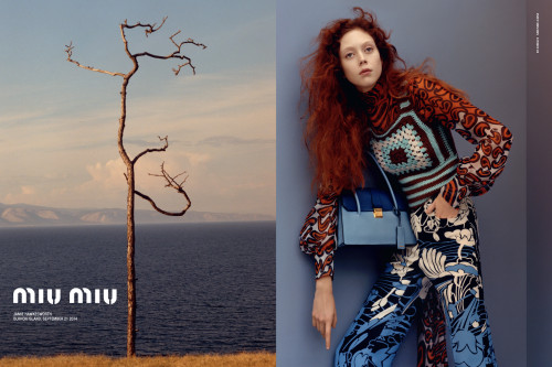 Jamie Hawkesworth for Miu Miu resort 2015 | Source: Courtesy