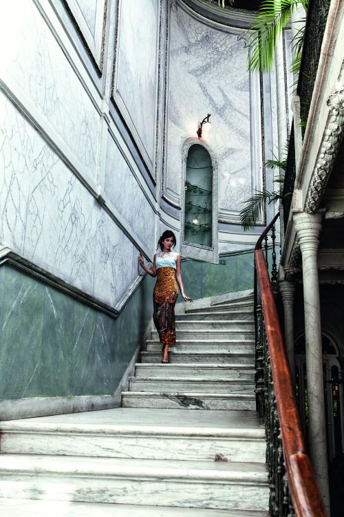 Nancy Ajram for Harper's Bazaar Arabia | Photo: Mara Desipris