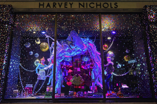 Harvey Nichols Christmas windows 2015 | Source: Harvey Nichols