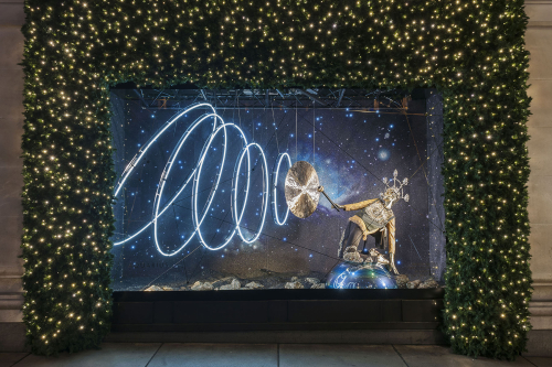 Selfridges Christmas window 2015 | Photo: Andrew Meredith for Selfridges