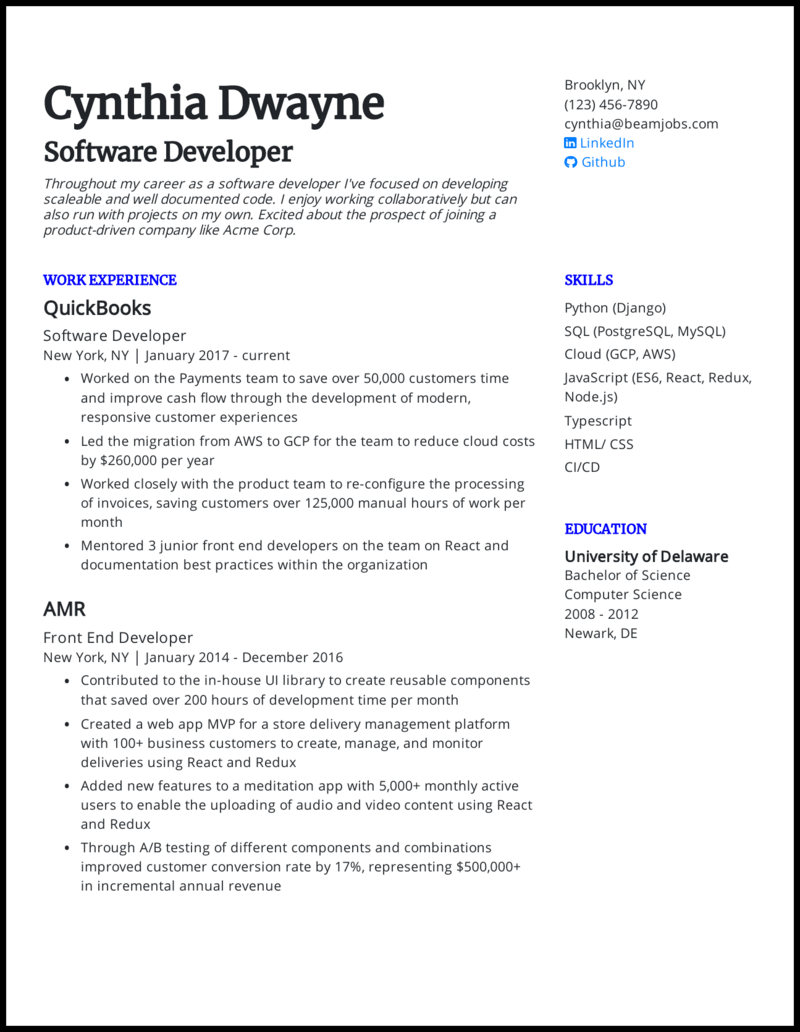 What is the best way to format your software engineer resume? 5 Software Engineer Resume Examples That Worked In 2021