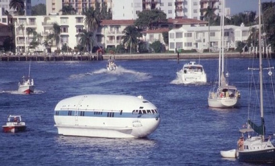 This Boeing B-307 Was Purchased For $61.99 And Turned Into One Of The Most Creative House Boats Ever
