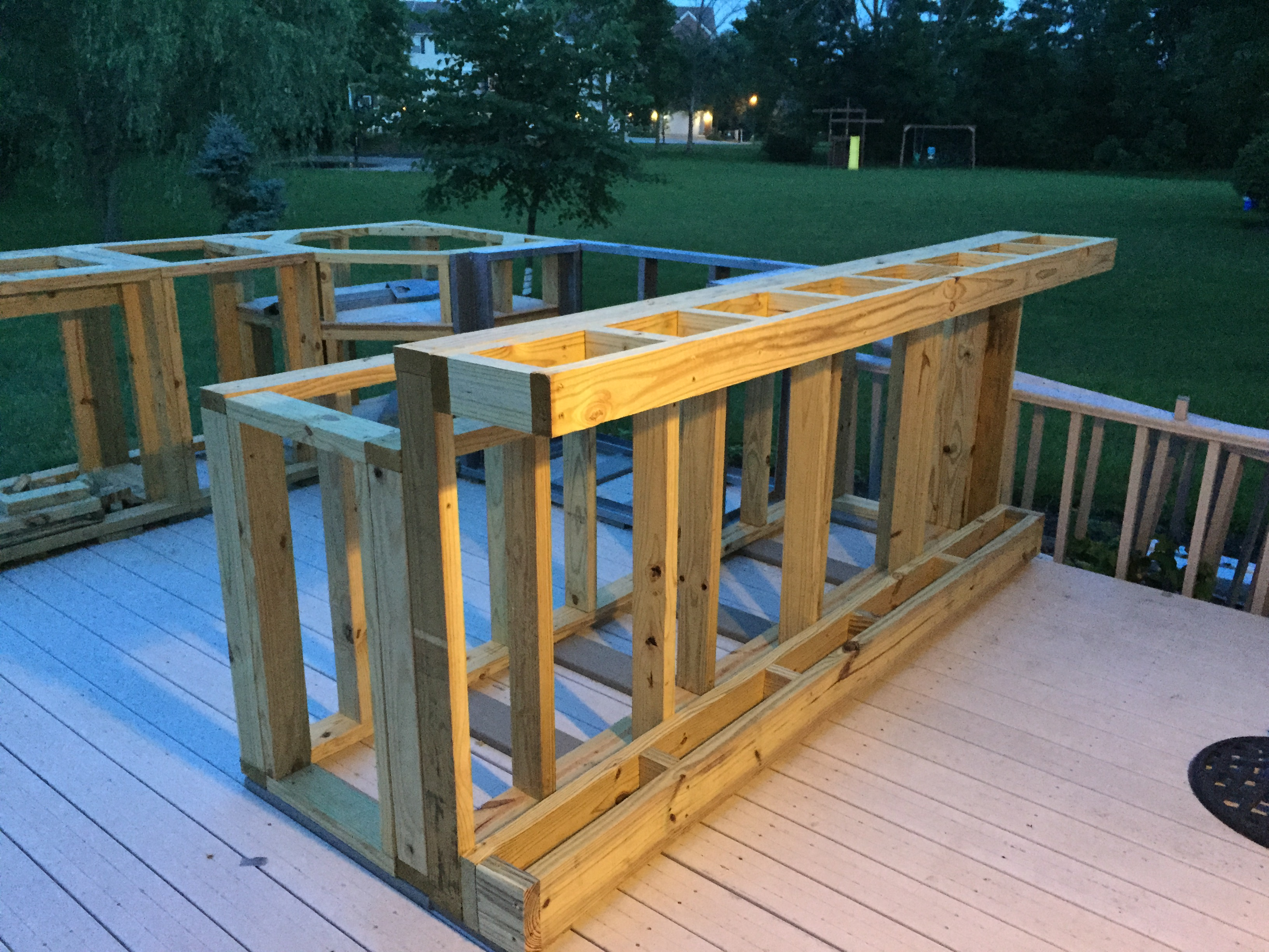 Guy With No Experience Builds Outdoor Kitchen That Would ... on Patio Kitchen Diy  id=34576