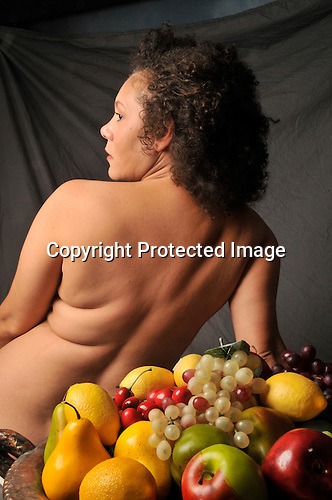 Nude Woman with Fruit