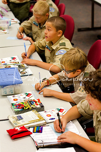 Duke Energy employees lead the sessions to ensure the Boy Scouts are receiving real-world experience and accurate information.
