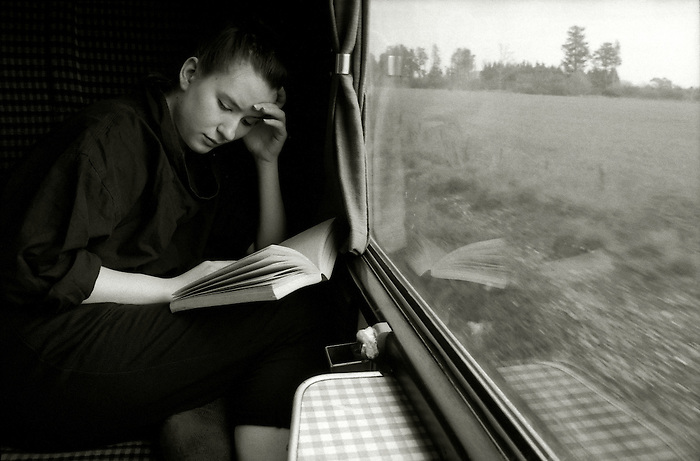 Image result for A train journey: reading