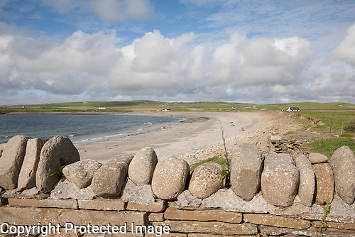 Skaill Beach on the Orkney Islands, Scotland