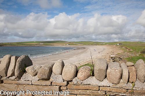 Skaill Beach on the Orkney Islands, Scotland