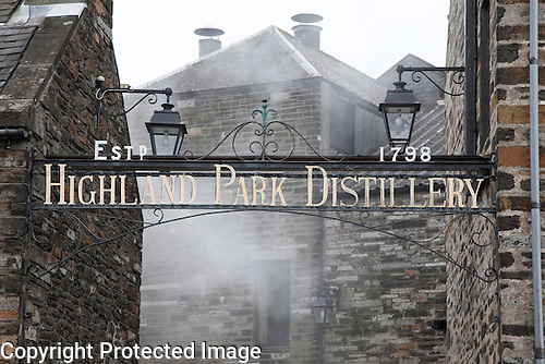Highland Park Distillery, Kirkwall, Orkney Islands, Scotland