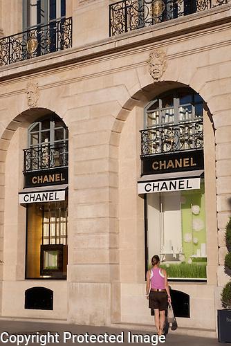Chanel Shop, Place Vendome Square, Paris