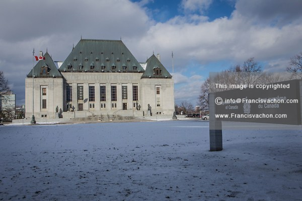 Supreme Court of Canada | Stock photos by Francis Vachon