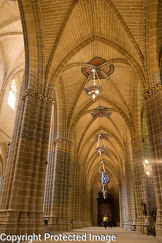 Cloister of Cathedral of Pamplona, Navarra