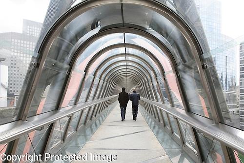 Walkway, La Defense, Paris, France