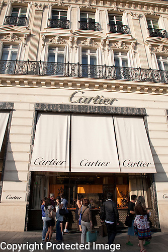 Cartier, Avenue des Champs Elysees, Paris