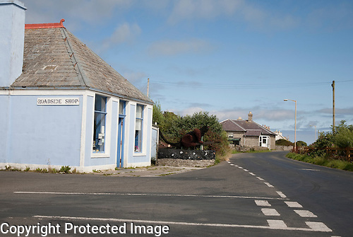 Village of Lady, Sanday, Orkney Islands, Scotland