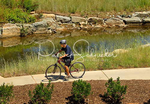 Photo: The greenway provides such environmental benefits as stream buffering, wildlife habitats and flood control.