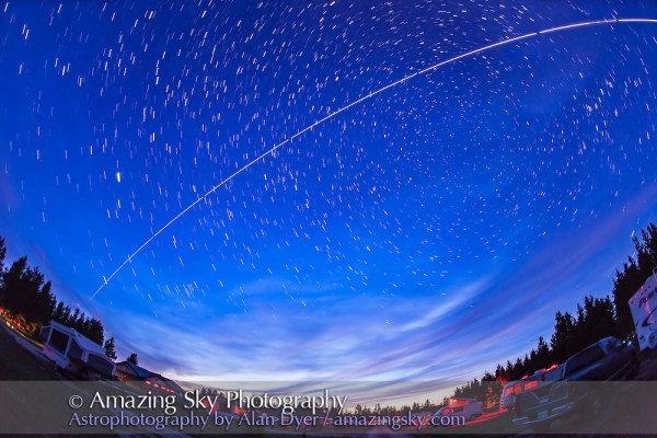 ISS Pass Over Star Party (August 10, 2013) | Amazing Sky ...