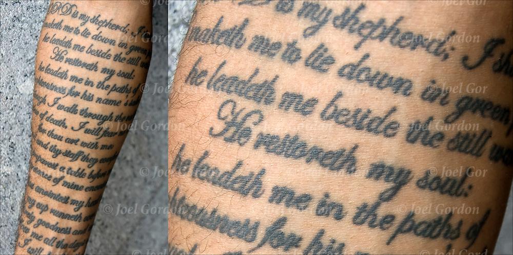 Though I Walk Through Valley Shadow Death I Shall Fear No Evil Tattoos