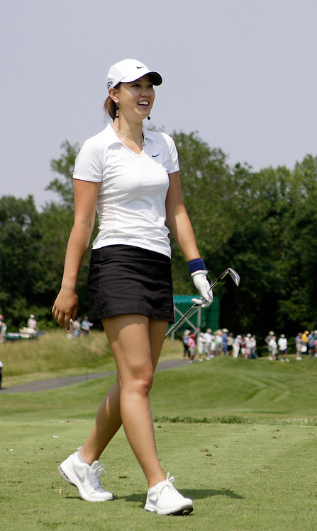 Michelle Wie plays the LPGA Championship.   Todd Bigelow ...