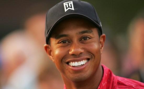Tiger Woods Smile - Image Copyright PhotoShelter.Com