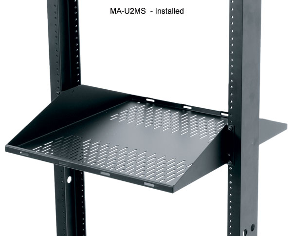 double sided vented shelves