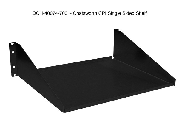 single sided non vented shelves