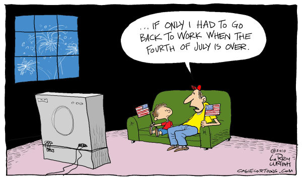 Larry Wright Cartoon for 06/30/2010