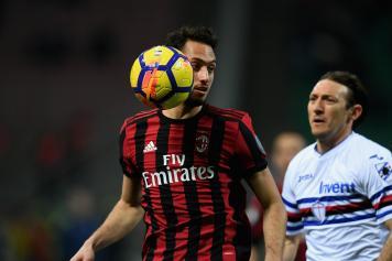 Calhanoglu Milan Barreto Sampdoria