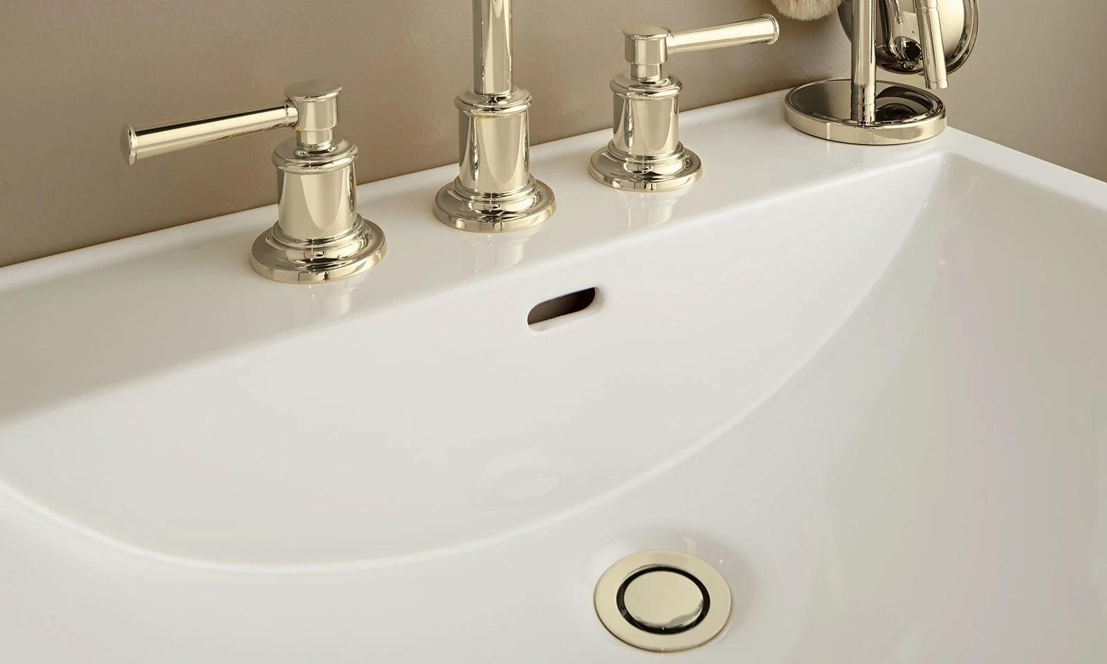 zerodrain pop down sink drain