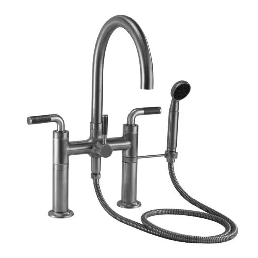 deck mount tub fillers california faucets