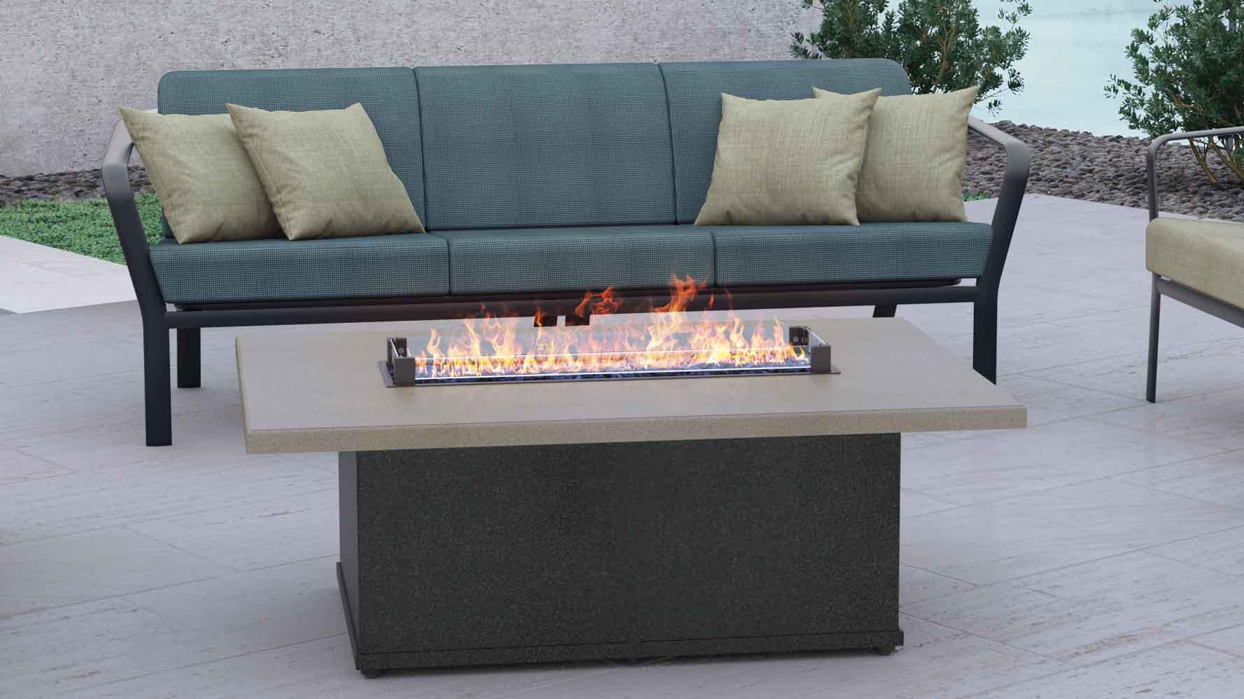 matrix firepit california patio