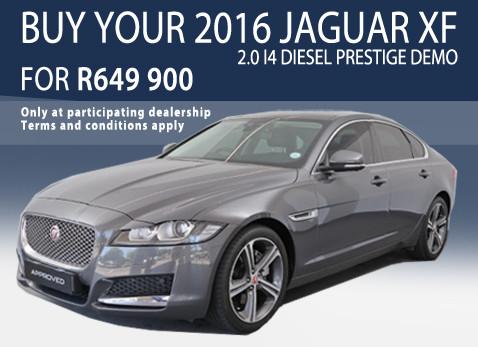 2016 Jaguar XF 2.0 i4 Diesel Prestige Demo