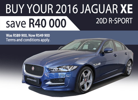 2016 Jaguar XE 2.0D R-Sport - Save R40 000