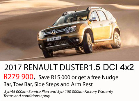 2017 Renault Duster 1.5 DCi 4X2