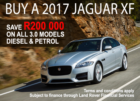 2017 Jaguar XF 3.0 Model and Save R200 000