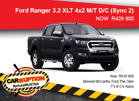 Ford Ranger 3.2 XLT 4X2 M/T Double Cab