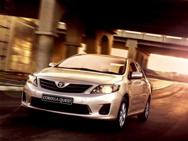 Toyota Corolla Quest 1.5 Manual Transmission