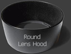 Round (non-Petal) Lens Hood