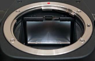 DSLR camera mirror