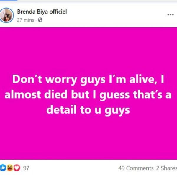 Post Brenda