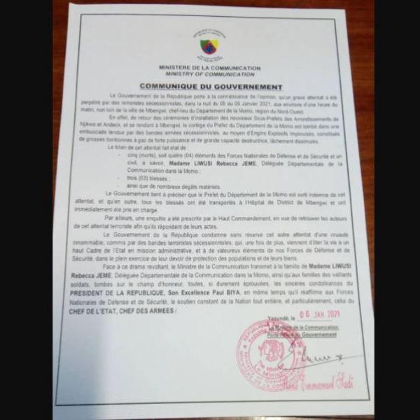 Attaque_Convoi_Prefet_Momo_Reaction_Gouvernement