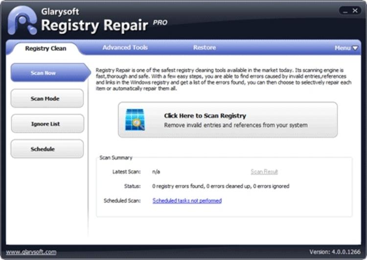 Resultado de imagen de Glary Registry Repair