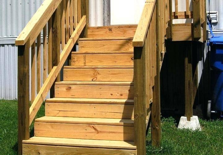 Premade Stairs Redwood Steps Outside Can Crusade   Premade Stairs For Outdoors